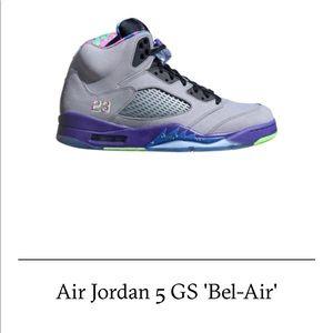 1a4422f3ed5 Women Air Jordan 5 Bel Air on Poshmark